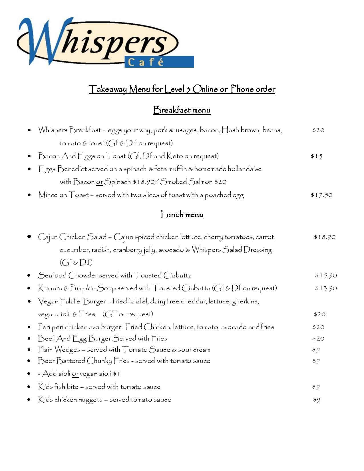 Whispers Cafe Menu Level 3-page-001